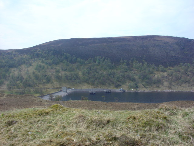 Loch Vaich and dam