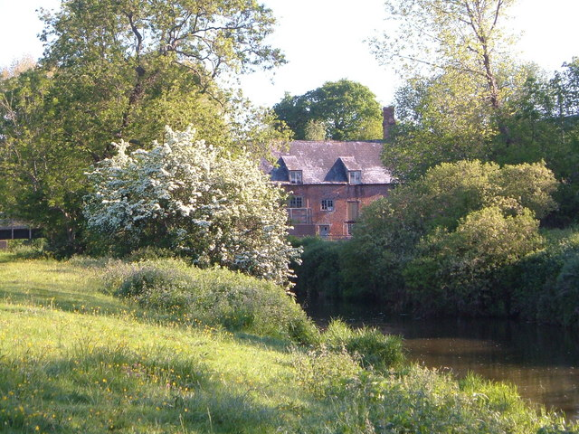 Tipton Mill on the River Otter