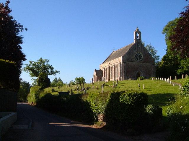 St John's church, Tipton St John