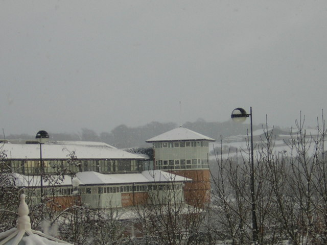 Durham County Ground in 2006 snow