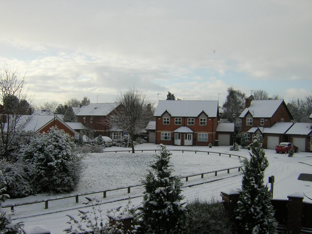 Houses next to Durham County Cricket Ground