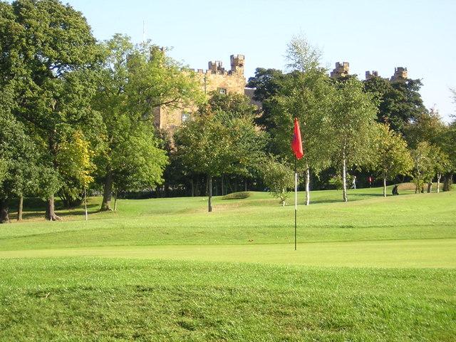 18th Green Chester-le-Street Golf Club