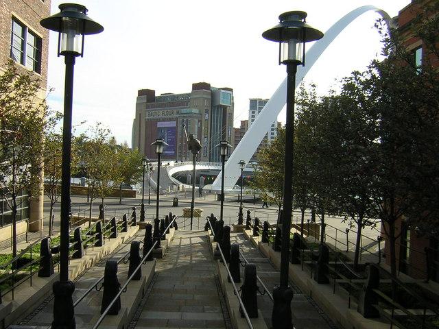 Newcastle upon Tyne and the Baltic
