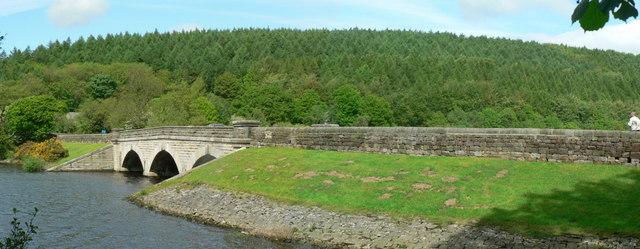 Viaduct, Lindley Wood Reservoir