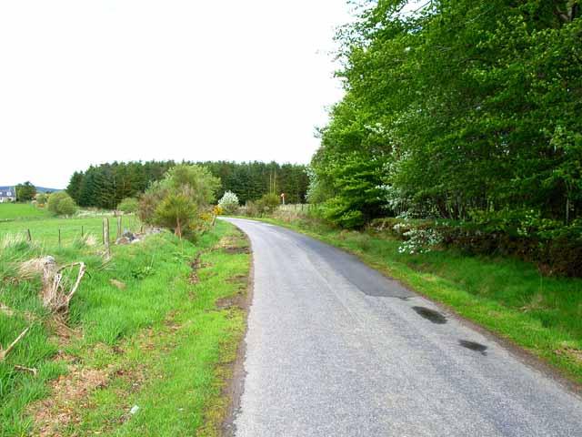 Road near Standingstones, Maryculter