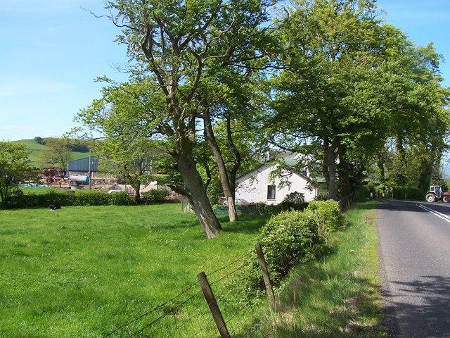 West Kilbride - Dalry Moor Road, Ballees Farm