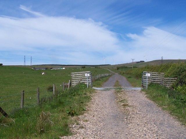 Dalry Moor Road, Road to Auldmuir Reservoir