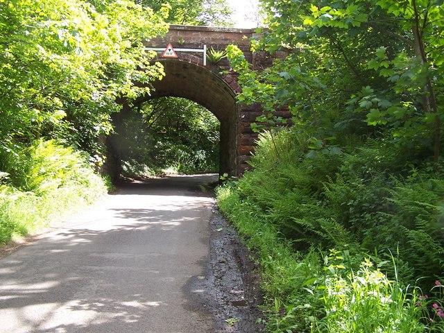 Dalry Moor Road, Railway Bridge