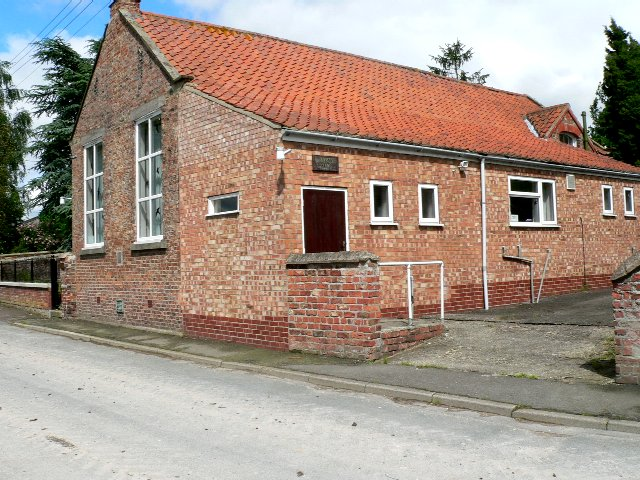 Village Hall, East Cottingwith