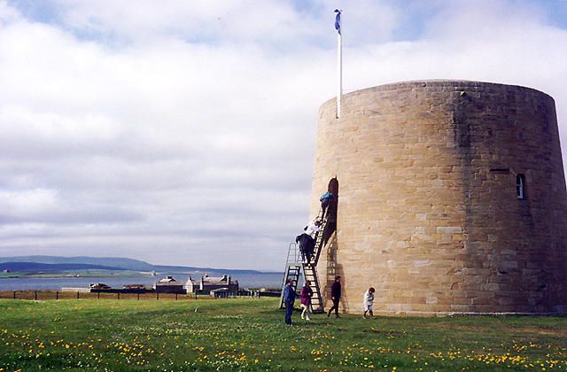 Martello Tower at Hackness