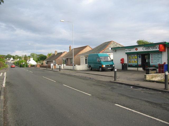 A70 at Coylton
