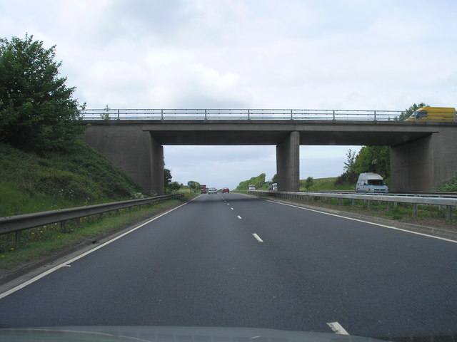 Bridge over the A71