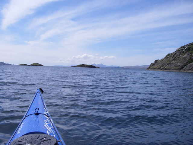 South East corner of Island Macaskin