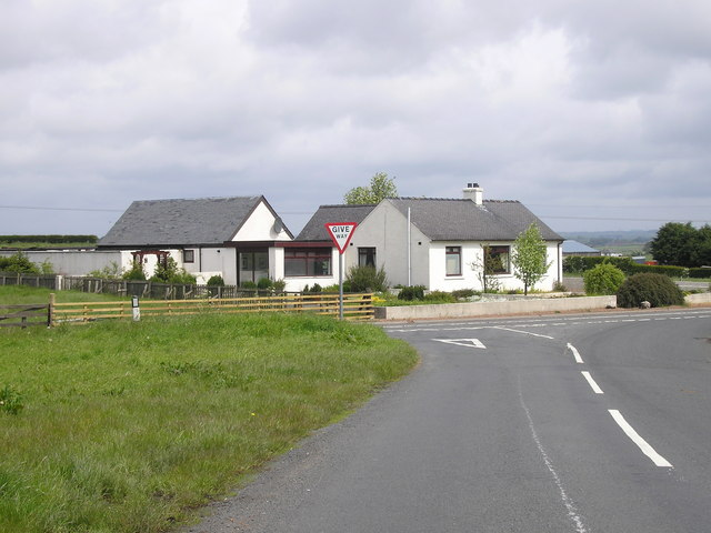 Junction between the B750 and the A759