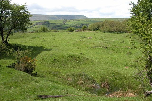 Site of Glis Farm, Vagar Hill