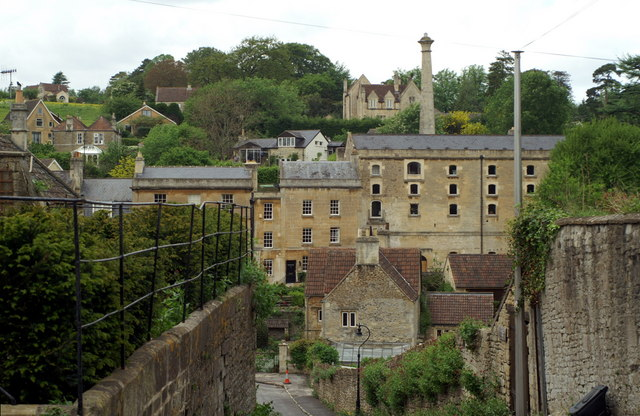 Mill buildings, Freshford