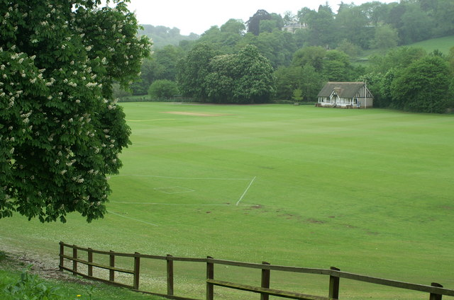 Cricket field, Monkton Combe School