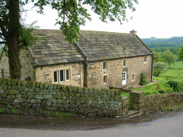 House at Farhill, overlooking the Amber Valley