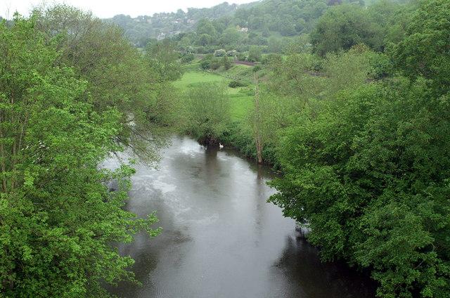 River Avon from Dundas Aqueduct
