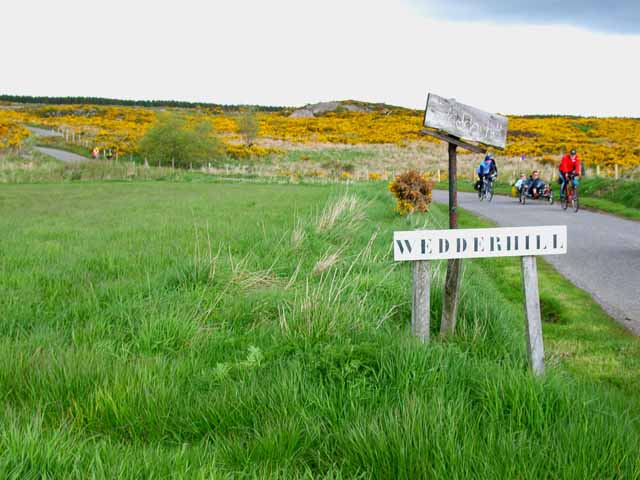 The road to Wedderhill