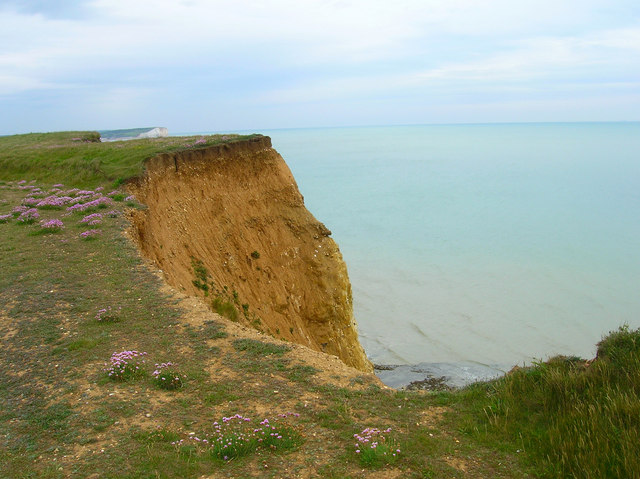 Edge of the cliff, Old Nore Point