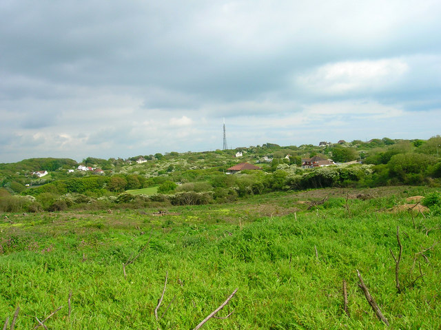 Cleared land, Peacehaven Heights
