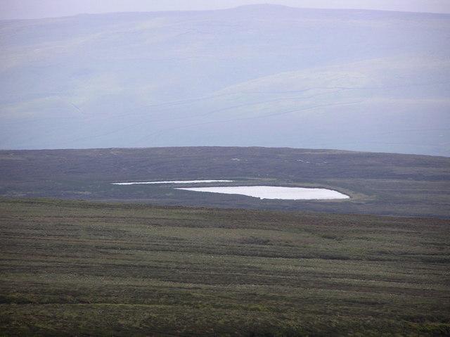 Moss Dam : Ivelet Moor.
