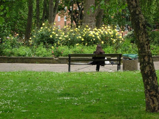 Oakley Square Gardens, Camden Town