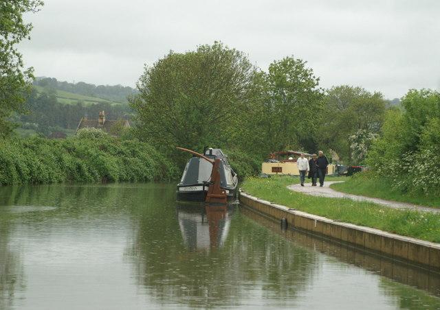 Kennet & Avon Canal above Bathampton