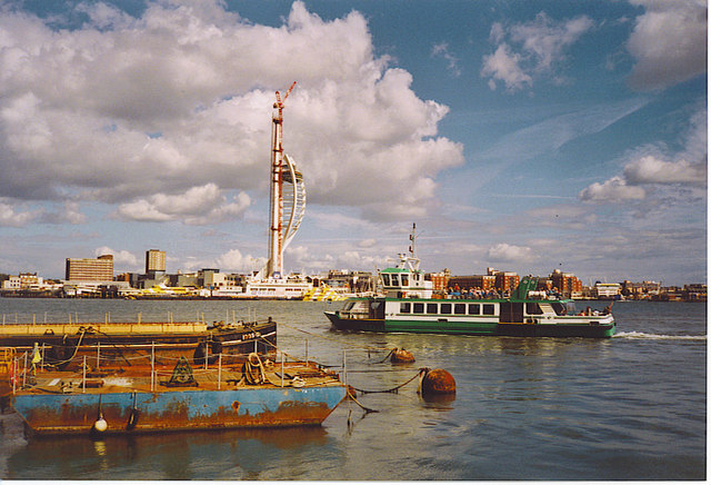 The Gosport Ferry.