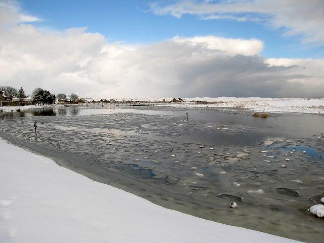 The Foveran Burn in Winter