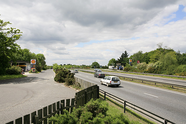 A31 dual carriageway at Picket Post
