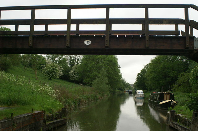Kennet & Avon Canal, Folly Footbridge