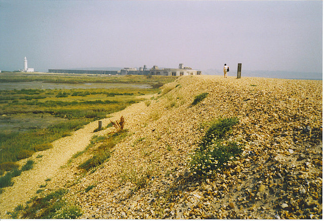 The Shingle Spit at Hurst Beach