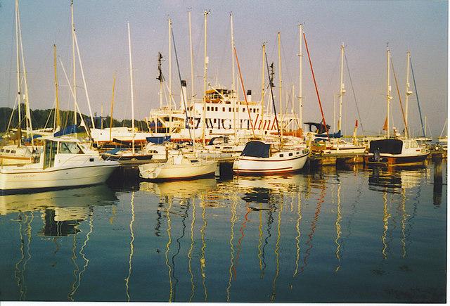 Lymington Marina.