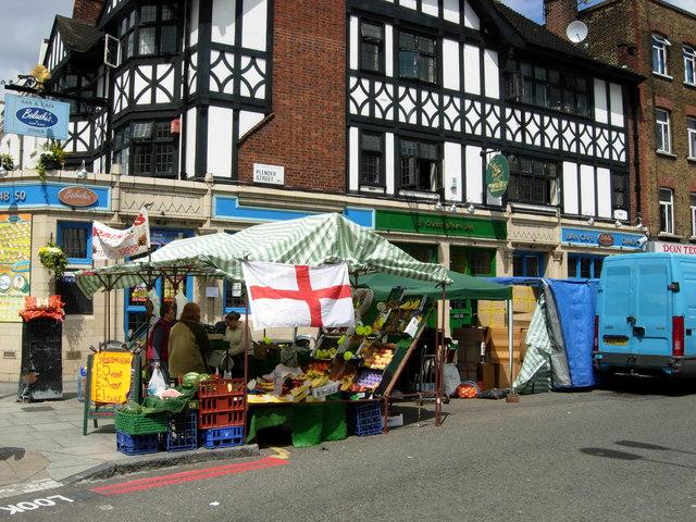 Plender Street, Camden Town