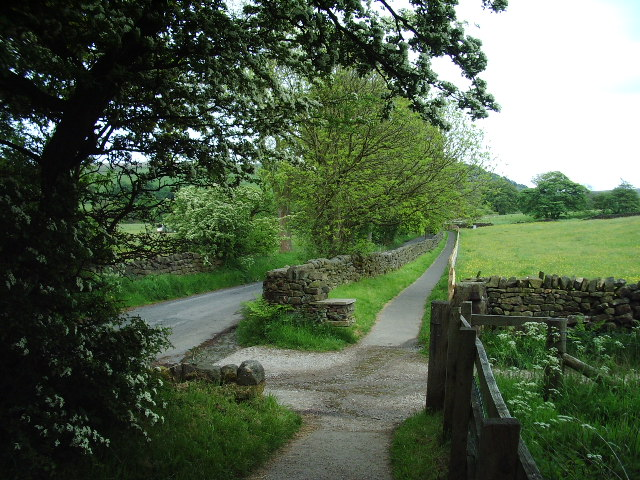 The way to Wycoller