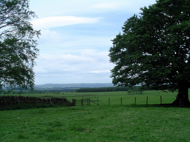 Farmland near Burnswark Hill