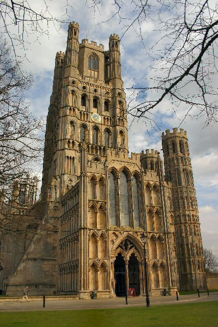 Ely Cathedral West Front