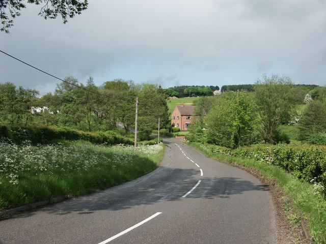 Countryside near Hulland.