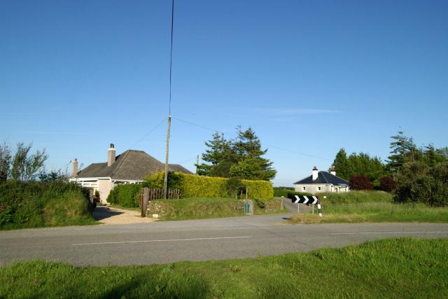 Bungalows off the A388, near Callington
