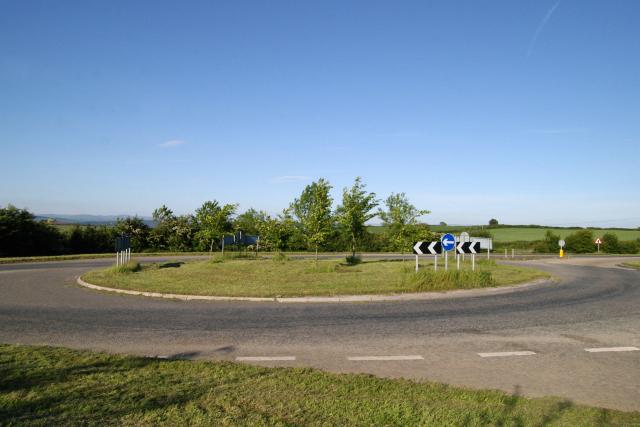 Roundabout, St Mellion, Cornwall