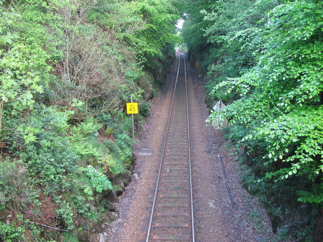 The West Highland Line at Torr