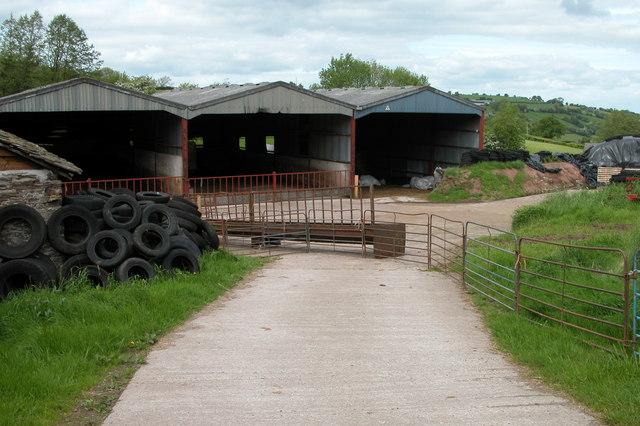 Farm Buildings, Nant-y-bar