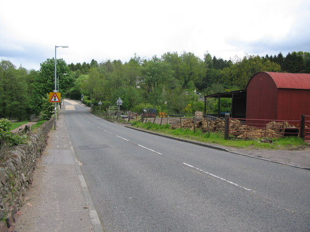 Approaching Gartocharn