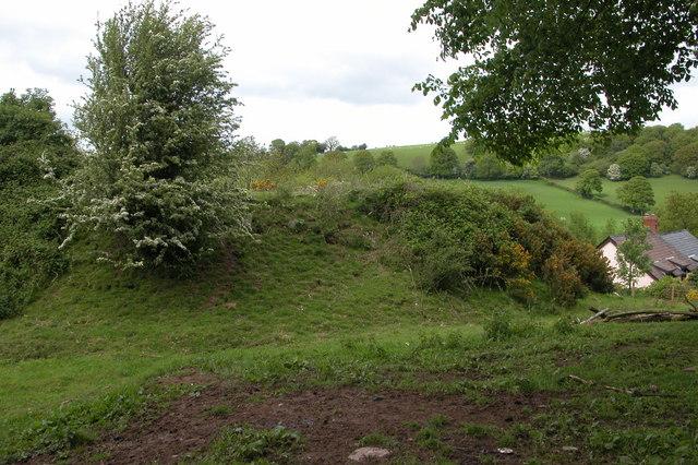 Motte and Bailey, Mynydd Brith