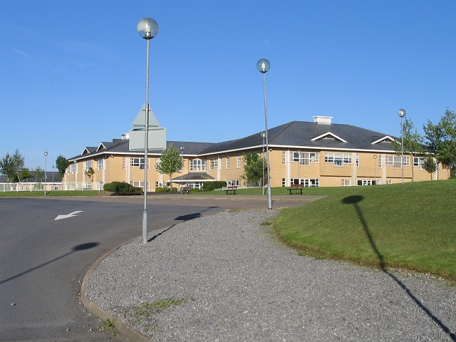 The new Bro Myrddin school, Carmarthen