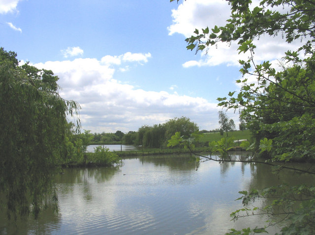 Fishing lakes - Greensted Green