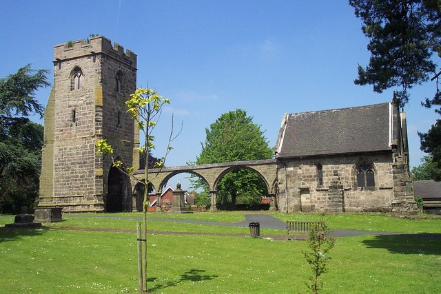 Ruin of Rugeley Old Church