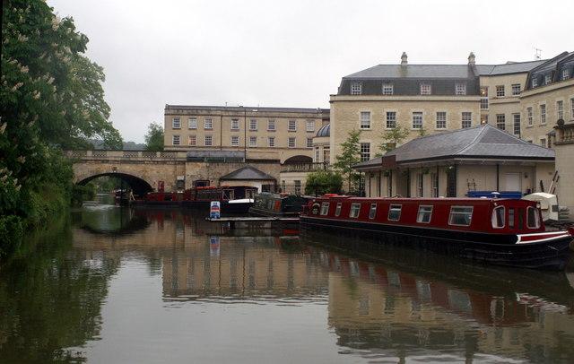 Kennet & Avon Canal, Bathwick